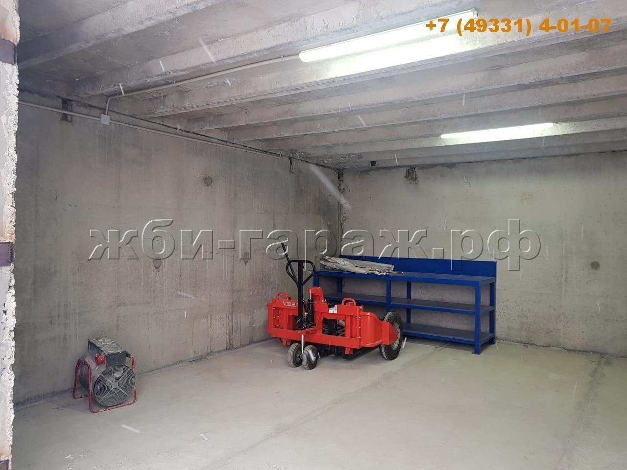 Сборный ЖБИ гараж